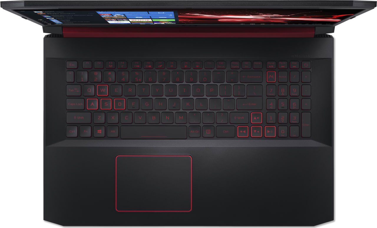 Black / Red Acer Nitro 5 AN517-51-56EU.4