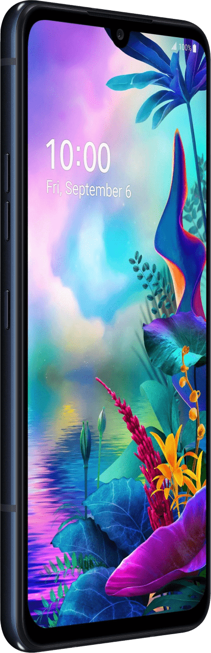 Schwarz LG G8X ThinQ Dual Screen 128 GB Dual SIM.3