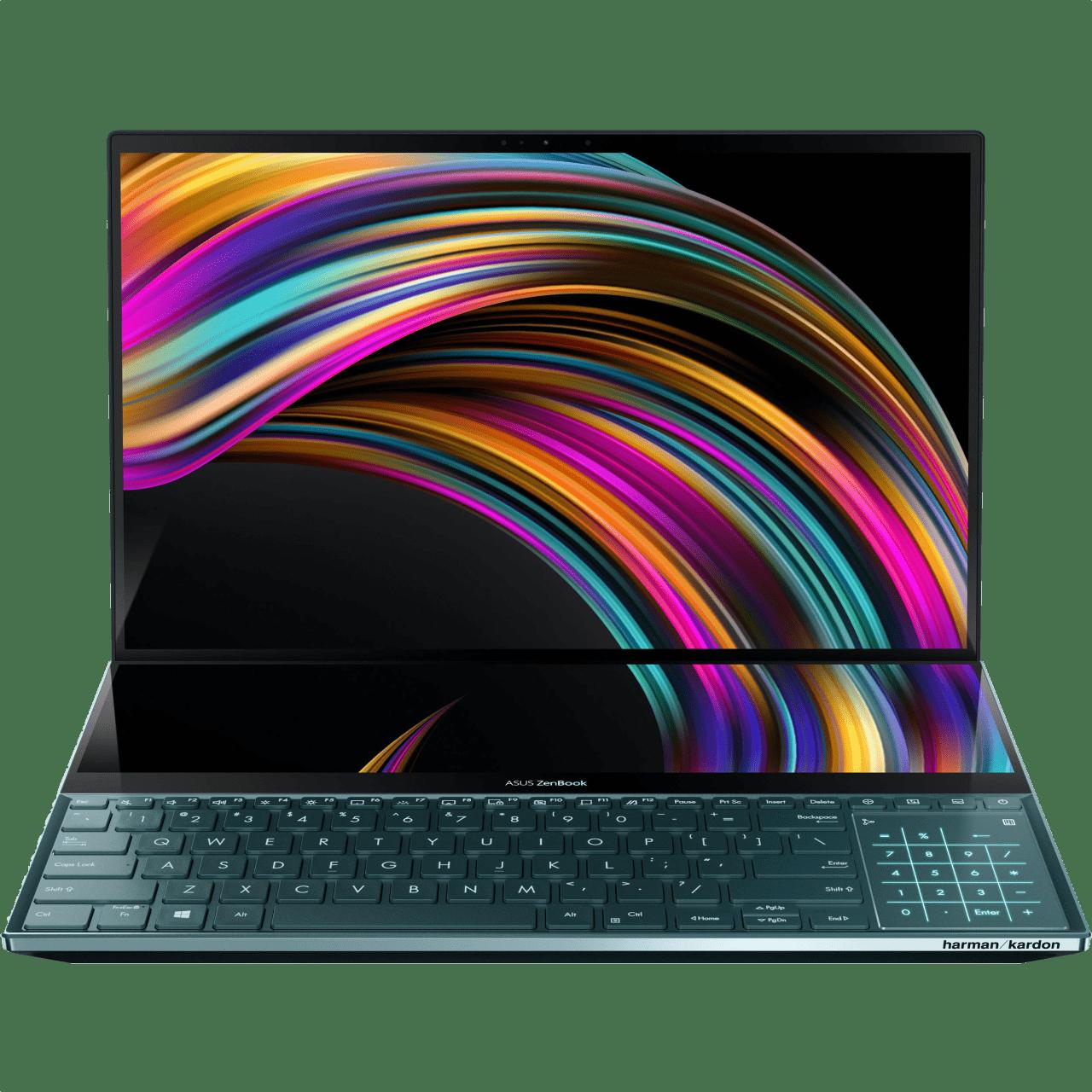 Celestial Blue Asus ZenBook Pro Duo UX581GV-H2002R.1