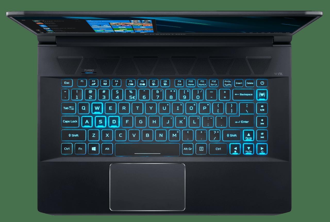 Black / Blue Acer Predator Triton 500 PT515-51-757Y.4