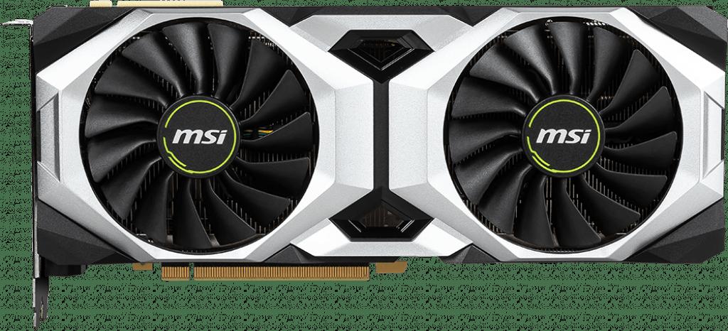 Schwarz MSI GeForce® RTX™ 2080 Ti Ventus GP.1