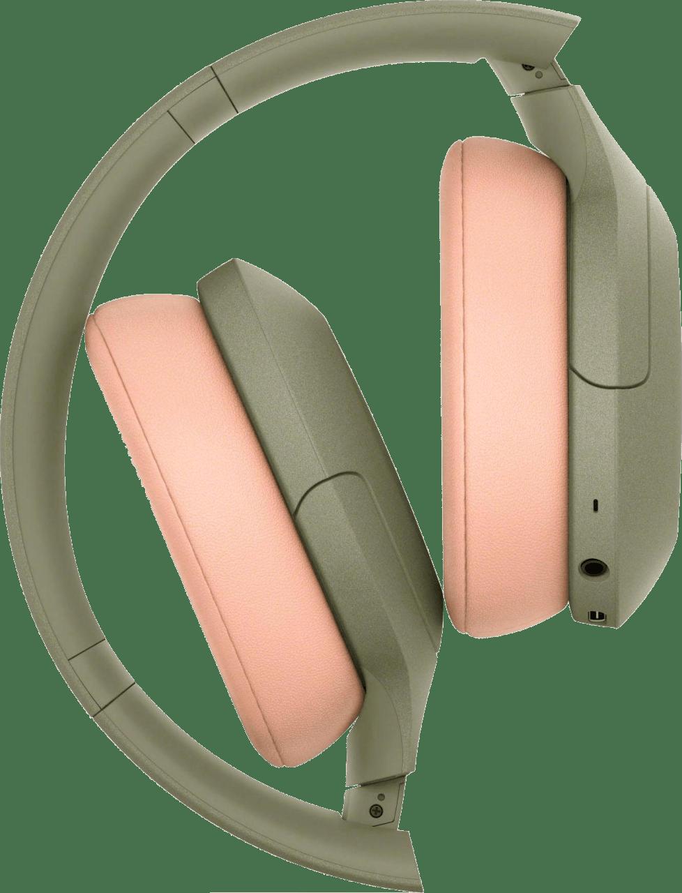 Green Sony WH-H910N Over-ear Bluetooth Headphones.4