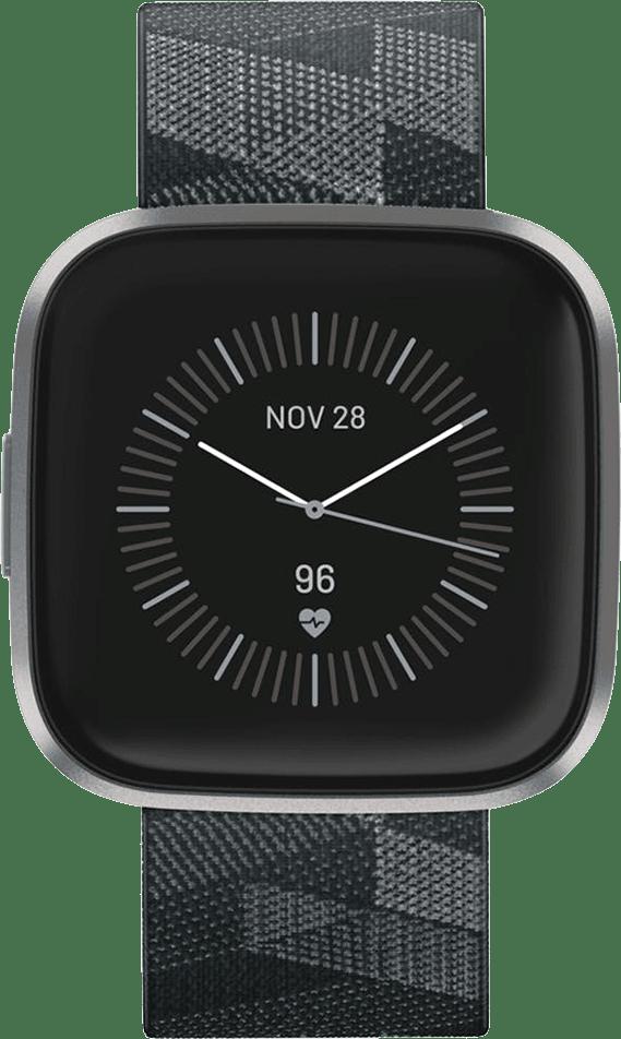 Smoke Woven Fitbit Versa 2 SE Smartwatch.2