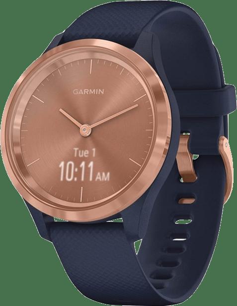 Navy Blue Garmin Vivomove 3s Smartwatch.2