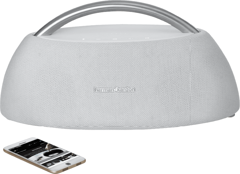 Weiß Harman Kardon GO + PLAY Bluetooth speaker.2