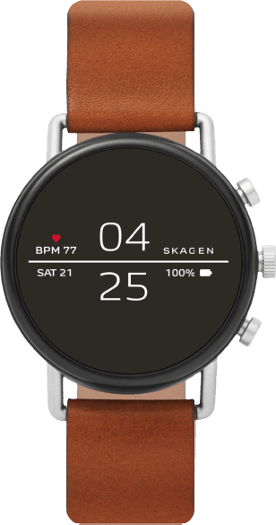 Brown Skagen Falster 2 Smartwatch.1