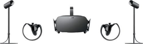 Black Oculus Rift Bundle (2 Sensors).3