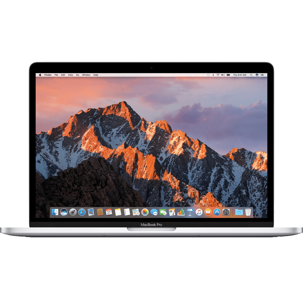 "Silber Apple 13"" MacBook Pro (Mid 2017).1"