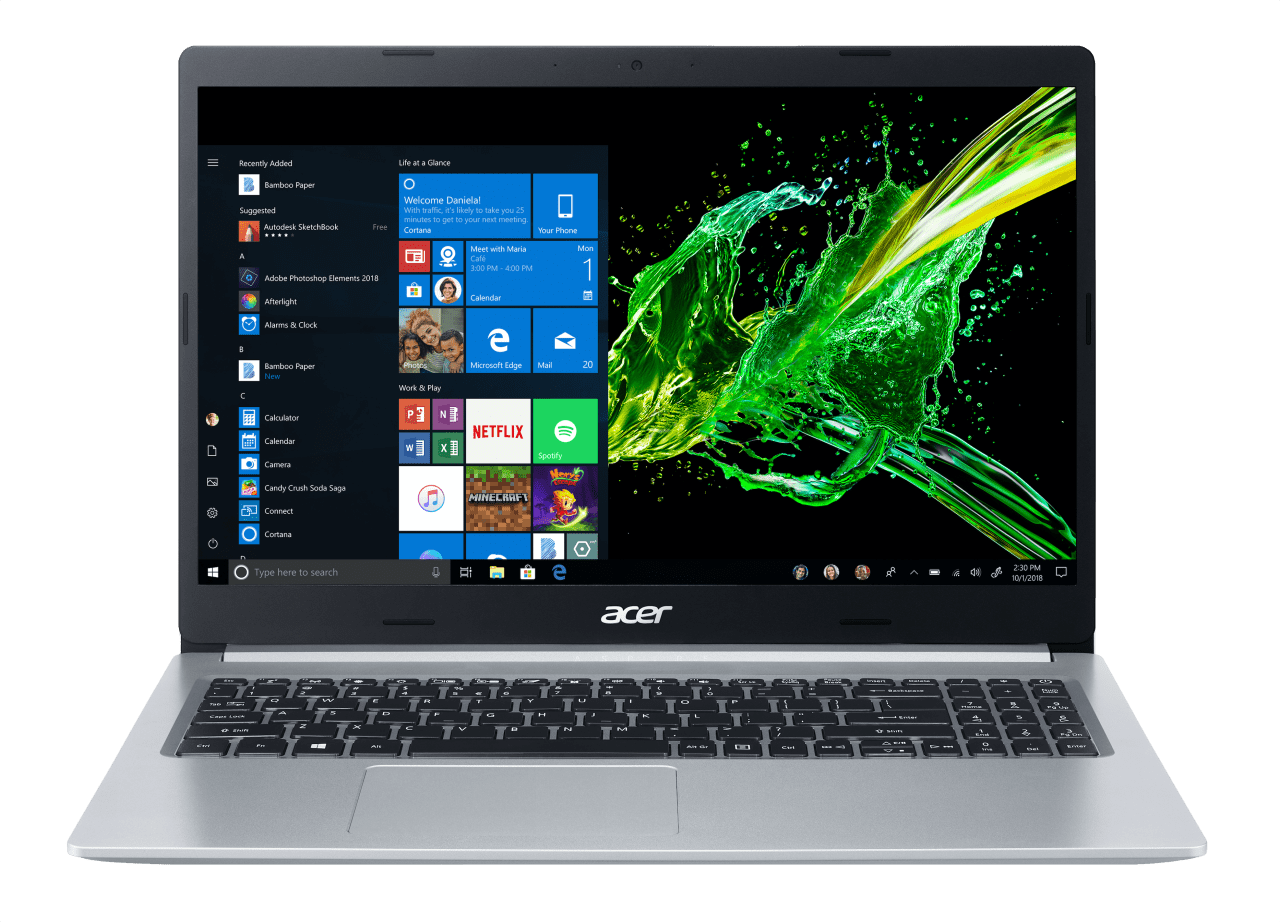 Silver Acer Aspire 5.1
