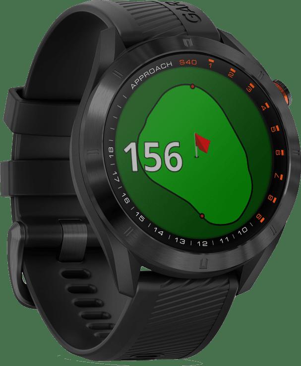 Schwarz Garmin Approach® S40 Golf GPS Watch.1