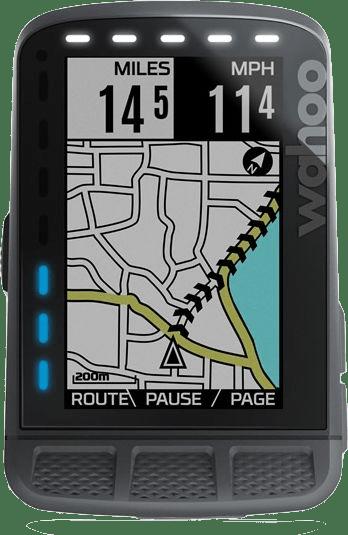 Zwart Wahoo Fitness ELEMNT ROAM GPS-fietscomputer.1