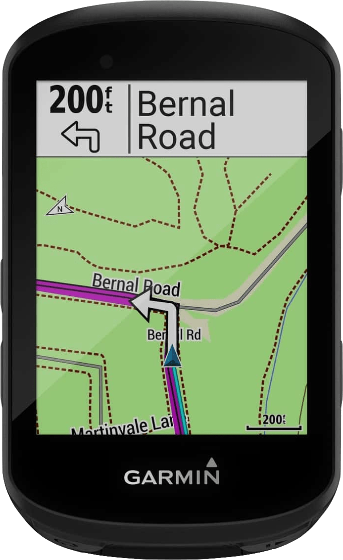 Schwarz Garmin Edge® 530 GPS Fahrradcomputer.1