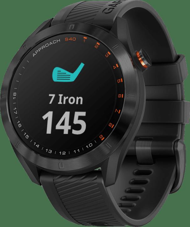 Schwarz Garmin Approach® S40 Golf GPS Watch.2