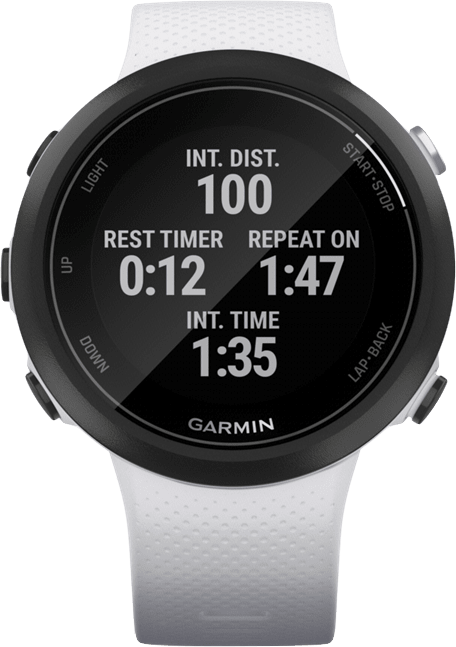 Stone White Garmin Swim ™ 2.3