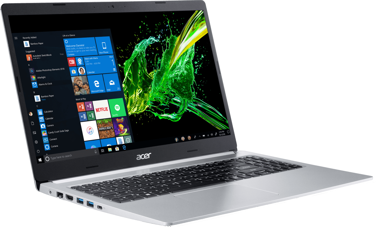 Silver Acer Aspire 5.4