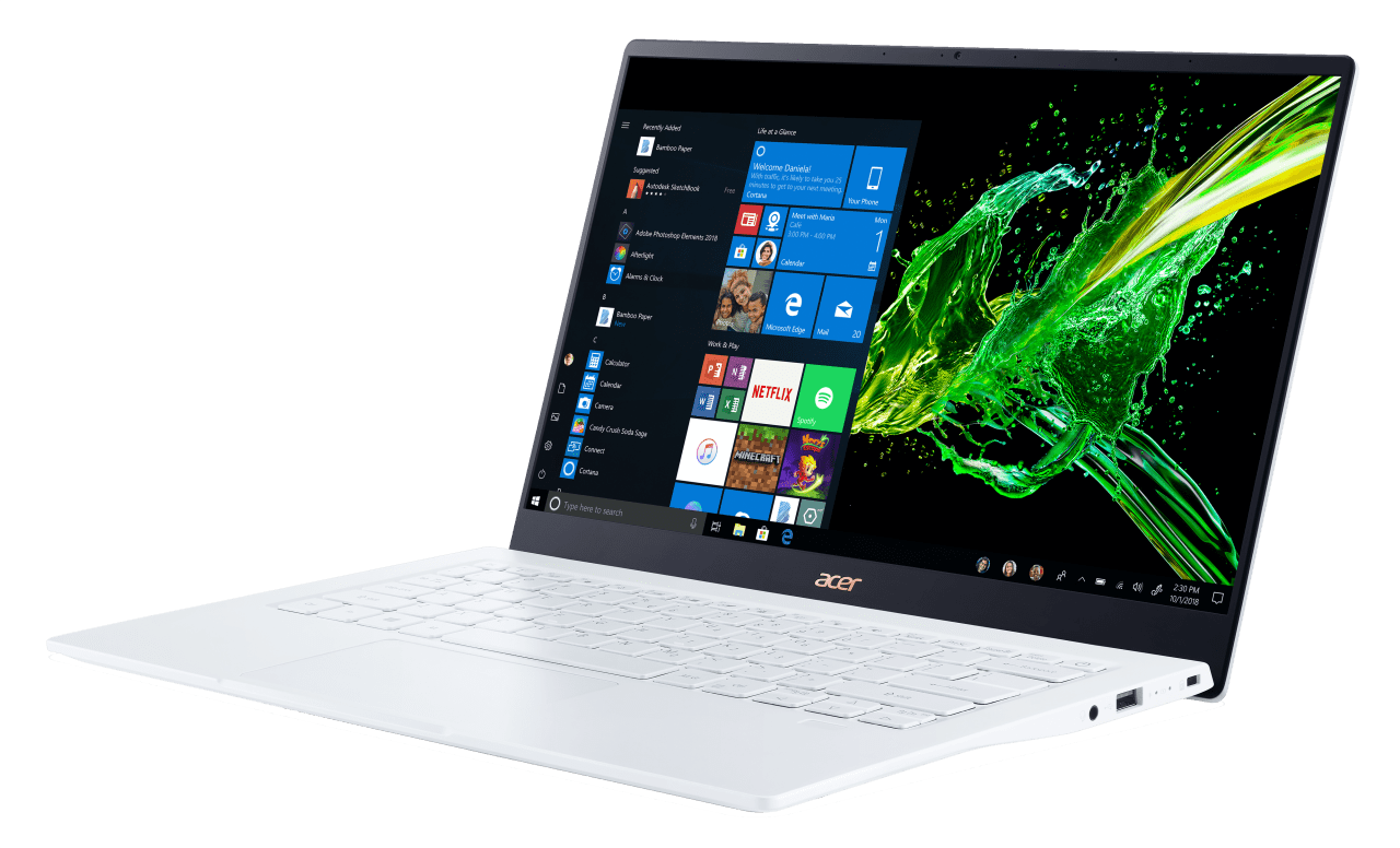 Weiß Acer Swift 5 SF514-54GT-707Z.4