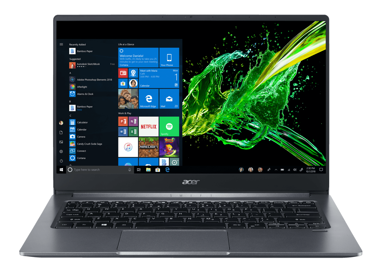 Still Grey Acer Swift 3 SF314-57G-58VN.1