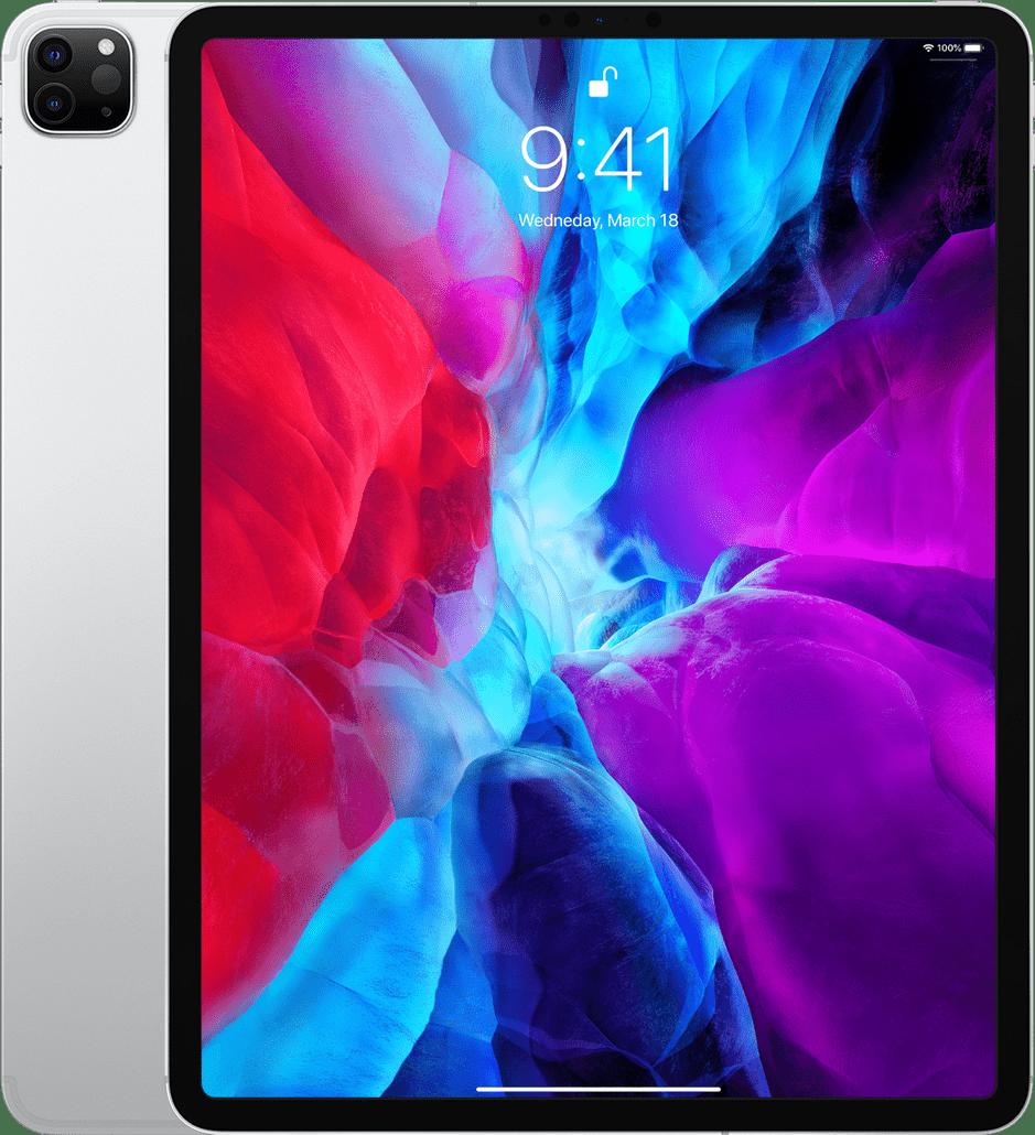 "Silver Apple 12.9"" iPad Pro Wi-Fi + LTE 512GB (2020).1"