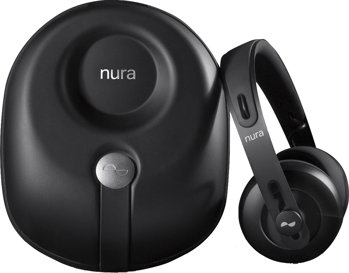 Black Nura Nuraphones Noise-Canceling Noise-cancelling Over-ear Bluetooth Headphones.2
