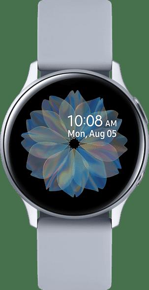 Plata Samsung Galaxy Watch Active2 LTE, 40mm Aluminium case, Sport band.1