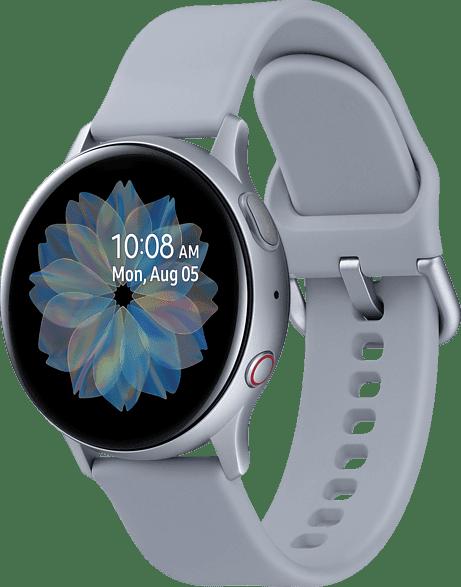 Plata Samsung Galaxy Watch Active2 LTE, 40mm Aluminium case, Sport band.3