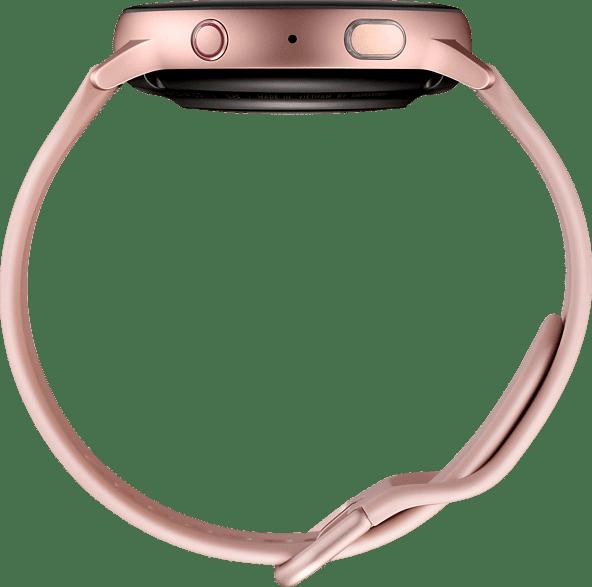 Pink Gold Samsung Galaxy Watch Active2 LTE, 44mm Aluminium case, Fluororubber Strap.4