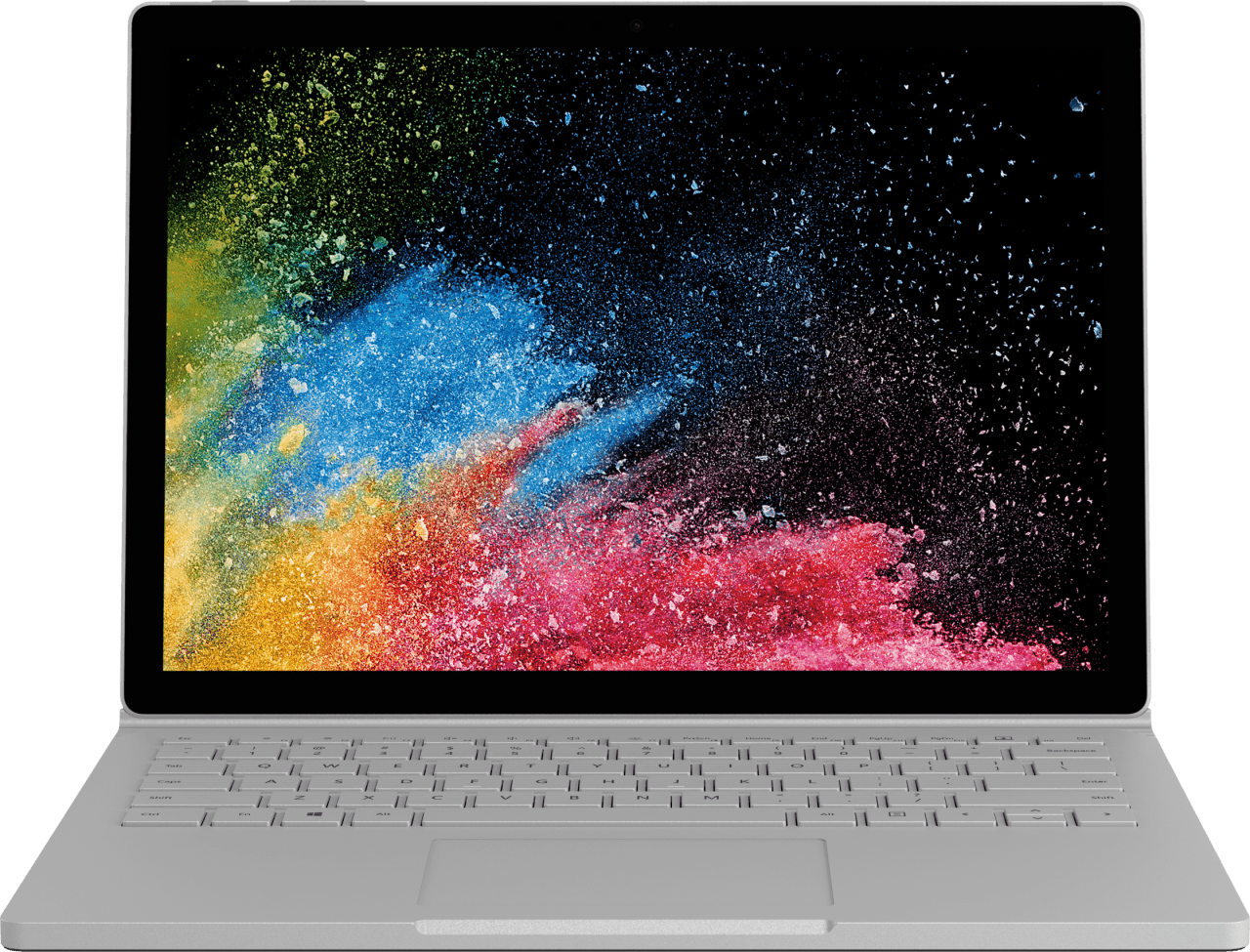 "Silver Microsoft Surface Book 2 13.5"".3"