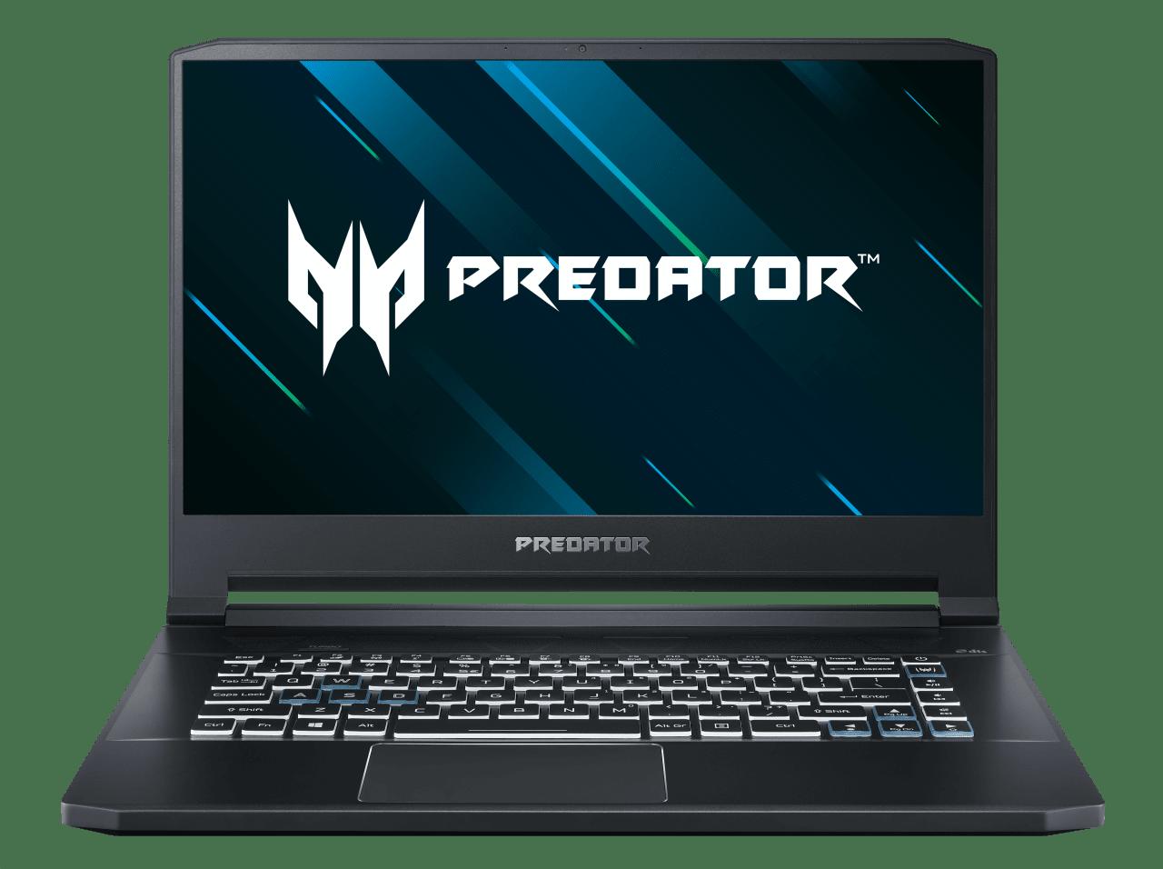 Black / Blue Acer Predator Triton 500 PT515-52-76UV.1