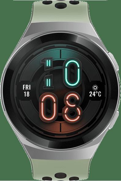 Mint green Huawei Watch GT 2e, 46mm Metal case,  Plastic fluoroelastomer band.2