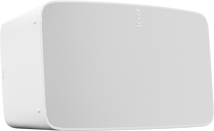 White Sonos Five.1