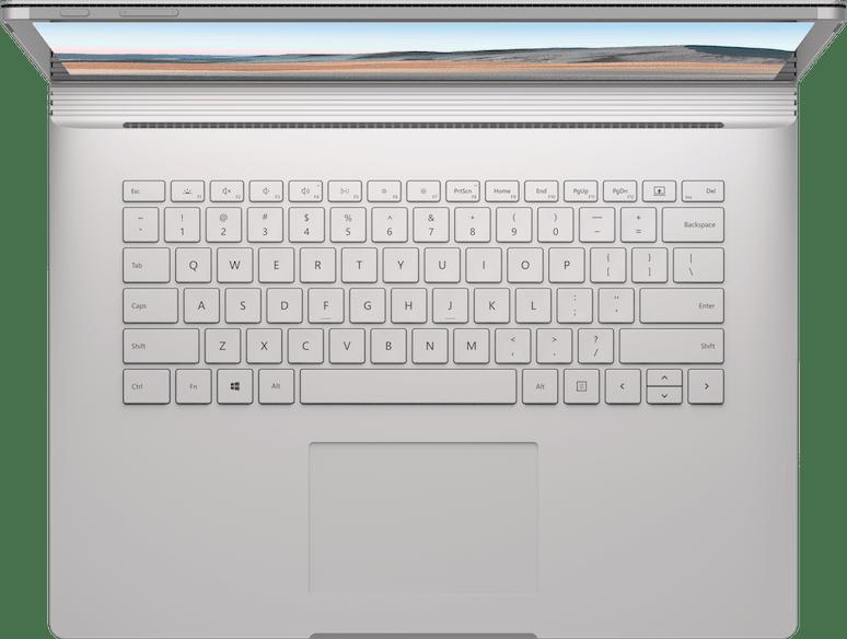 """Platin Microsoft Surface Book 3 13.5"""".5"""