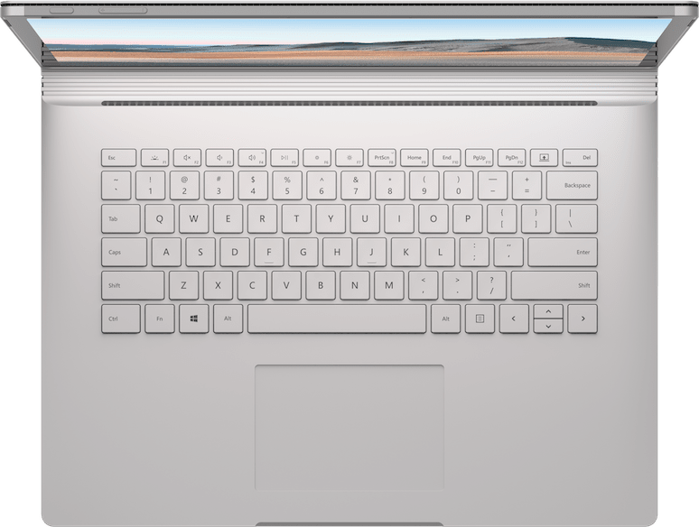 "Platinum Microsoft Surface Book 3 13.5"".5"