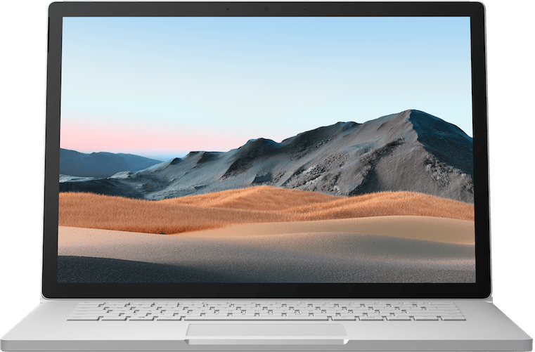 "Platinum Microsoft Surface Book 3 15"".2"