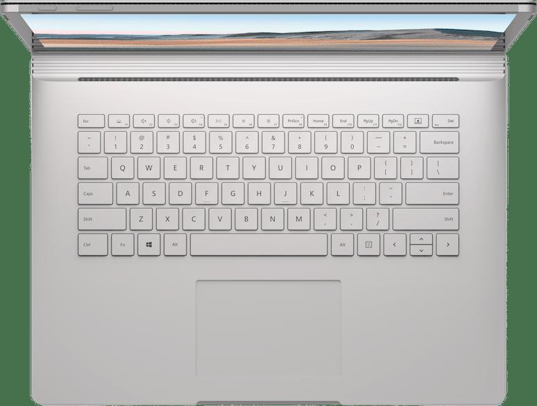 """Platin Microsoft Surface Book 3 15"""".4"""