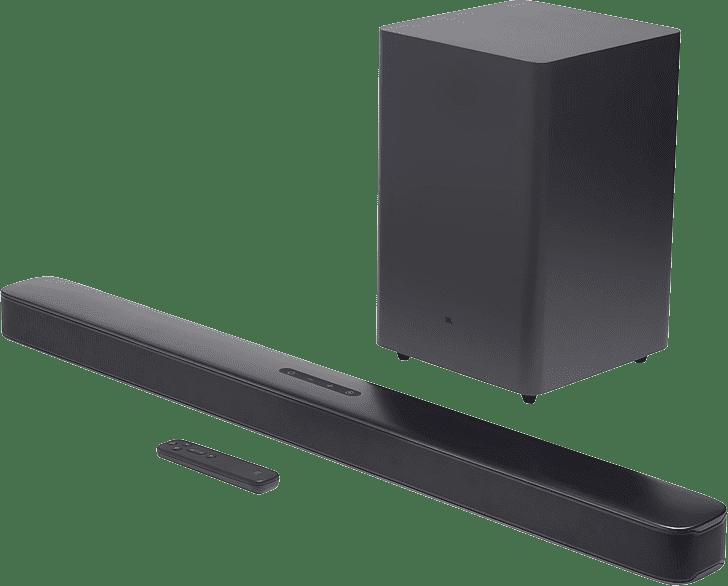 Black JBL Bar 2.1 Soundbar + Subwoofer.1