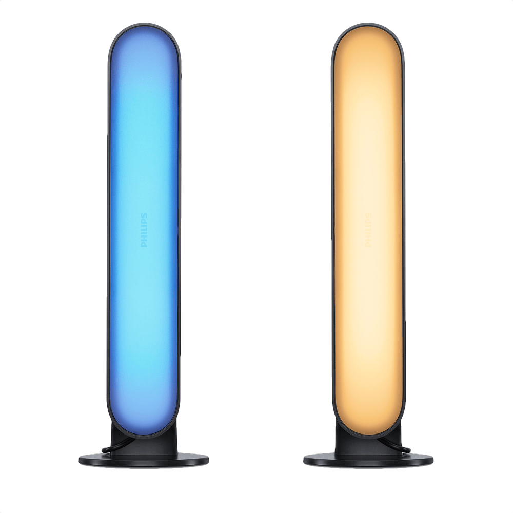 Black Philips Hue Play White & Color Ambience Lightbar (2-pack).1