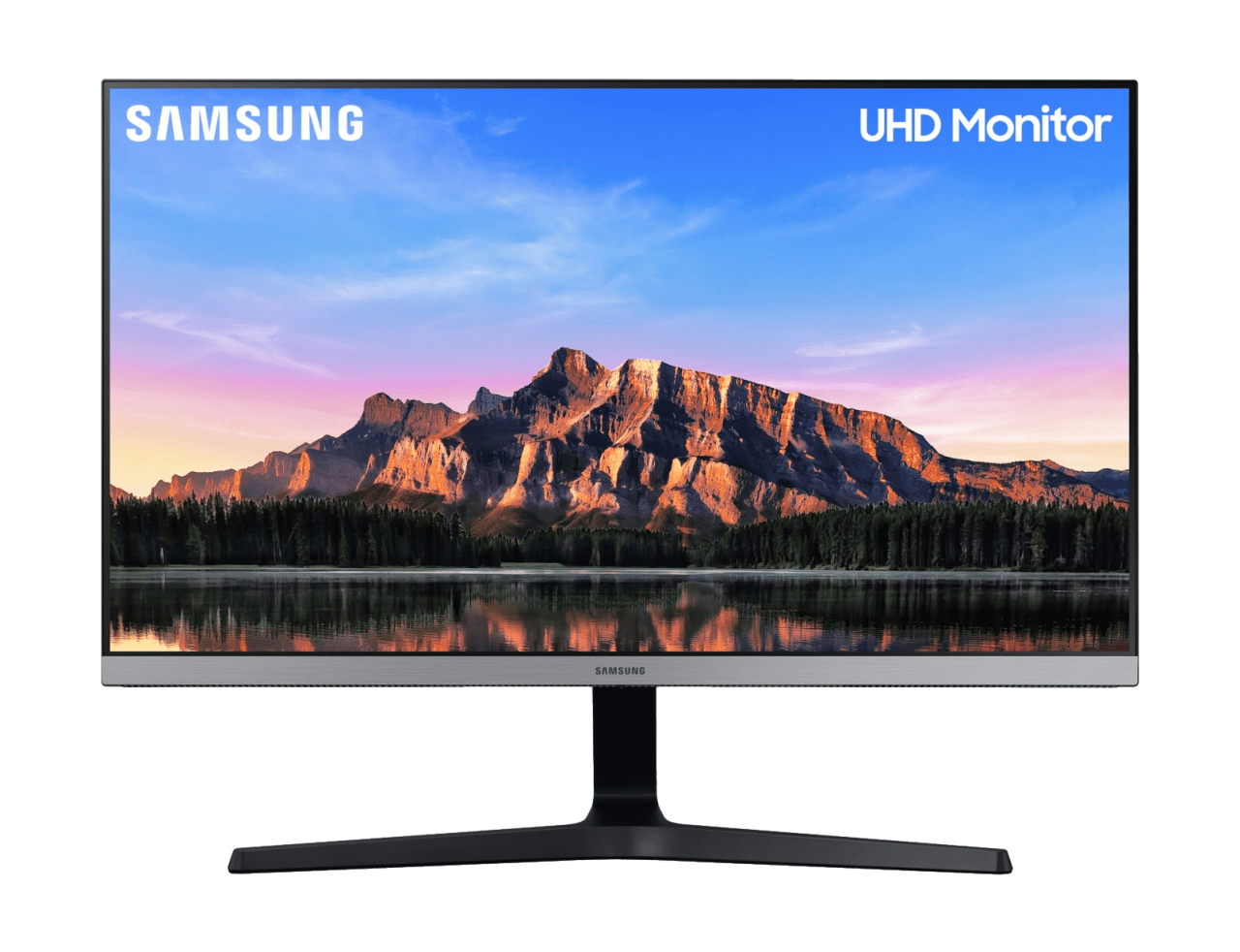 "Schwarz / Grau Samsung - 28"" U28R554UQU LU28R554UQUXZG.1"