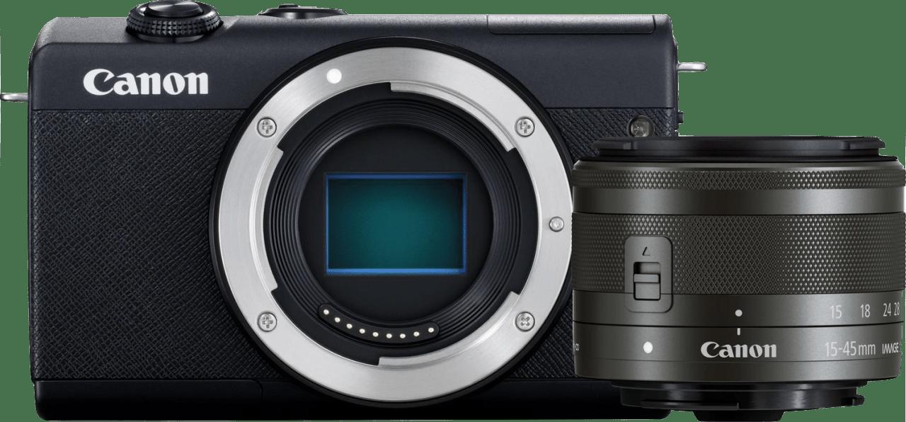 Schwarz Canon EOS M200 Kit (EF-M 15 - 45mm Lens).4