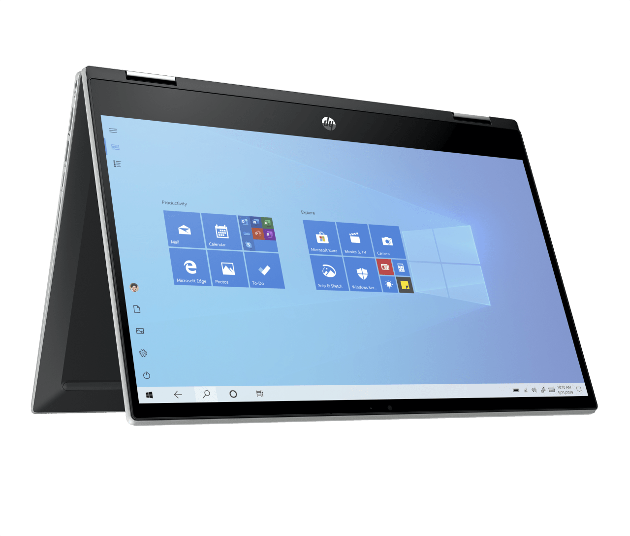 Natural Silver HP Pavilion x360 14-dw0231ng Convertible - Intel® Core™ i5-1035G1 - 8GB - 256GB PCIe - Intel® UHD Graphics.1