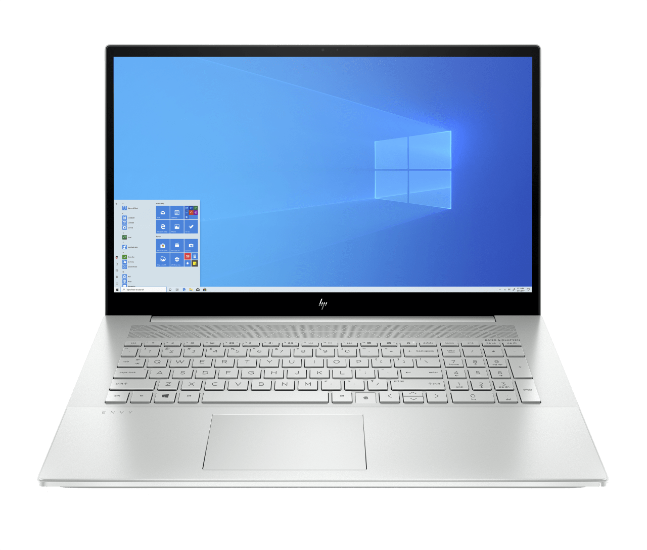 Natural Silver HP Envy 17-cg0220ng Notebook - Intel® Core™ i7-1065G7 - 16GB - 1TB PCIe - NVIDIA® GeForce® MX330.1