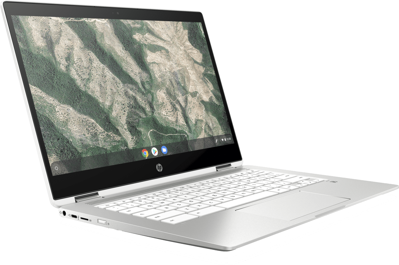 Natural Silver HP Chromebook 14b-ca0250ng Laptop - Intel® Pentium® Silver-N5000 - 8GB - 128GB eMMC - Intel® UHD Graphics.4