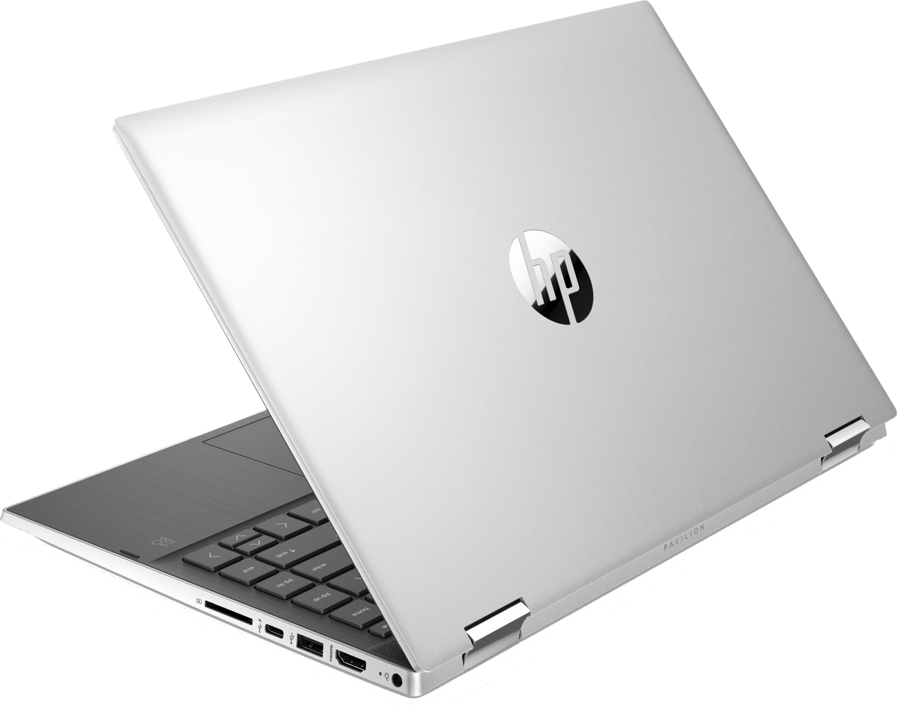 Natural Silver HP Pavilion x360 14-dw0231ng Convertible - Intel® Core™ i5-1035G1 - 8GB - 256GB PCIe - Intel® UHD Graphics.3