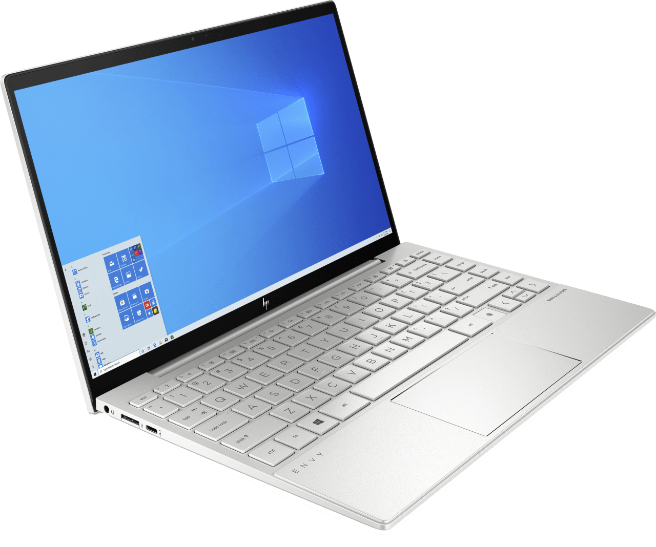 Natural Silver HP Envy 13-ba0253ng Notebook - Intel® Core™ i5-10210U - 8GB - 512GB PCIe - Intel® UHD Graphics.3