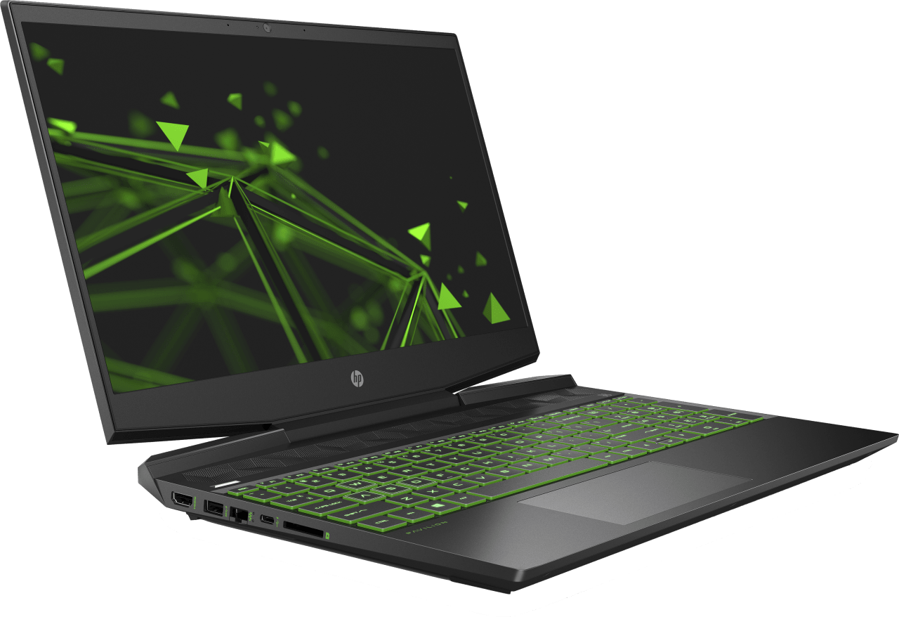 Shadow Black / Acid Green HP Pavilion Gaming 15-dk1265ng - Gaming Notebook - Intel® Core™ i7-10750H - 16GB - 512GB PCIe + 1TB HDD - NVIDIA® GeForce® RTX™ 2060 Max Q.3