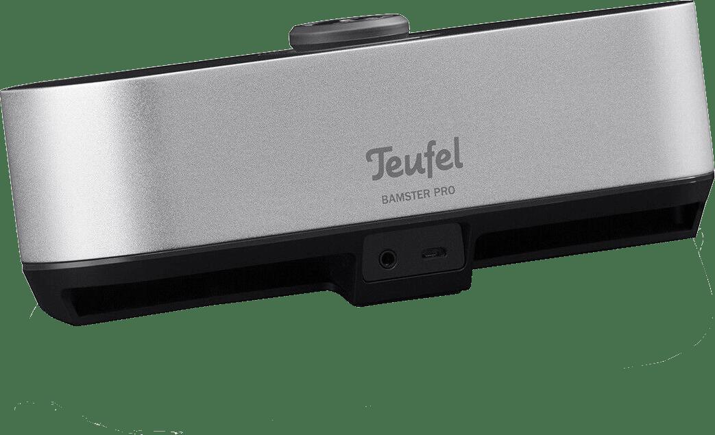 Silver Teufel Bamster Pro Bluetooth Speaker.4