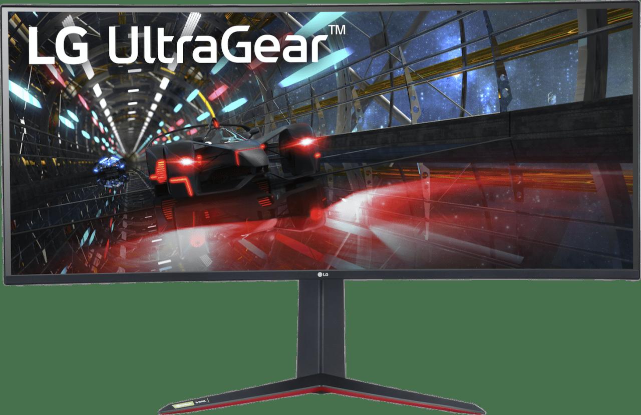 "Mate Black LG - 38"" Curved UltraGear™ 38GN950.1"