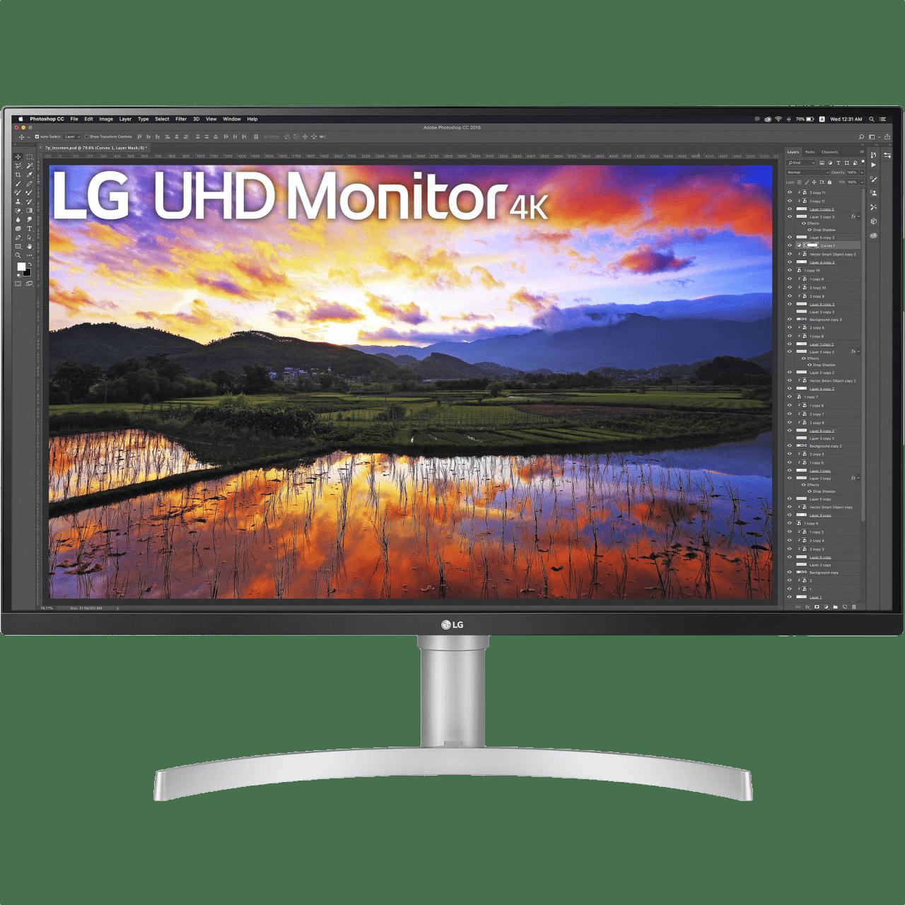 """Blanco LG - 32"""" Ultra HD 4K 32UN650.1"""