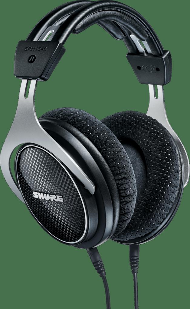 Black Shure SRH1540 Over-ear Bluetooth Headphones.1