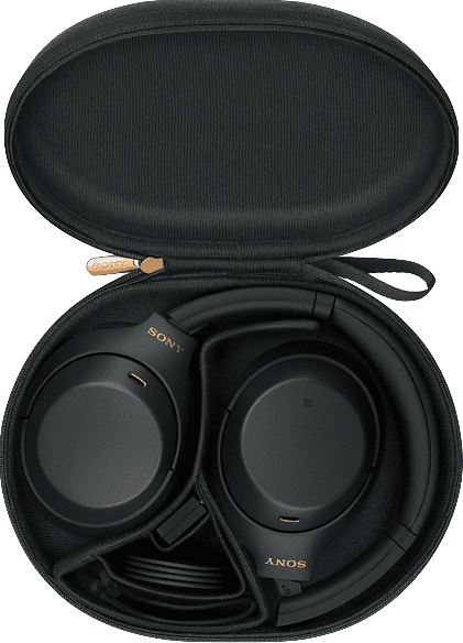 Schwarz Sony WH-1000 XM4 Noise-cancelling Over-ear Bluetooth Headphones.4