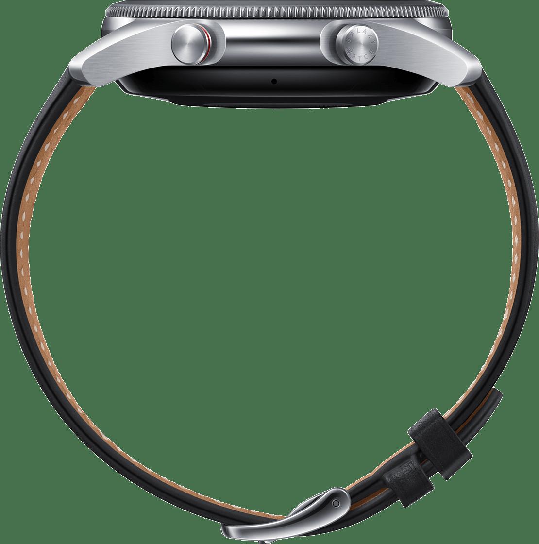 Mystic Silber Samsung Galaxy Watch 3 (LTE), 45mm.4